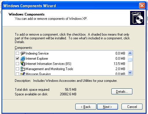 IIS Settings | Step3 | Checking IIS